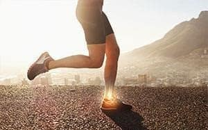 heel pain from running