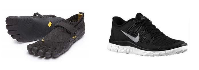 Minimalistic shoes