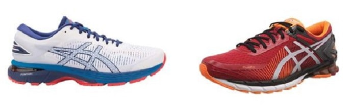 Conventional running shoes